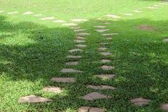 Stone pathway. Stock Photos