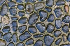 Stone pathway texture Stock Photography