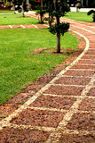 Stone pathway. Royalty Free Stock Images