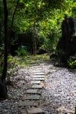 Stone pathways stock photos