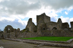 Stone Pathways and Ruins of Hore Abbey Royalty Free Stock Photos
