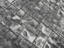 Stone pattern floor Stock Photography