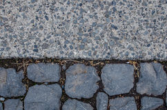 Stone pattern floor Stock Image