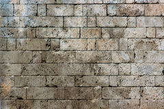 Stone pattern. An old ancient stone wall making a pattern Royalty Free Stock Photography