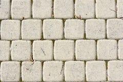 Stone paved background Stock Photography