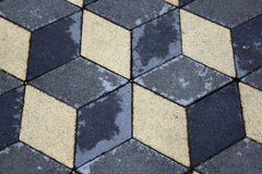 Stone Paved Garden Path Royalty Free Stock Images