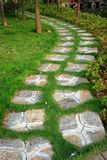 A stone pavement Royalty Free Stock Images