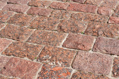 Stone pavement Stock Photography