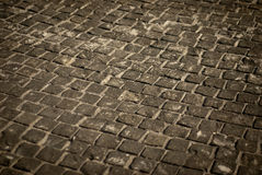 Stone pavement. Well maintained old stone pavement Royalty Free Stock Images