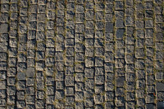 Stone pavement. Texture of the stone pavement Royalty Free Stock Photography