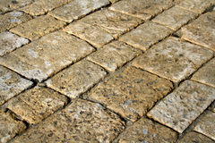 Stone pavement. Old stone pavement Royalty Free Stock Photos