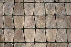 Stone pavement. Royalty Free Stock Photo