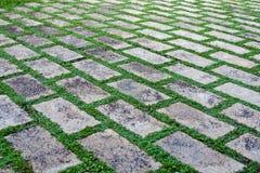 Stone pavement Royalty Free Stock Image
