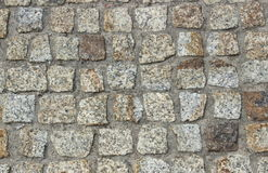 Stone pavement as background Royalty Free Stock Photos