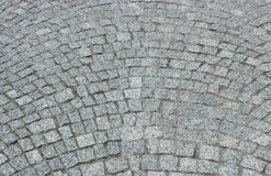 Stone pavement as background Stock Photo