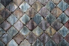 Stone pavement background Royalty Free Stock Photo