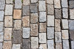 Stone pavement Stock Image