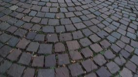 stone pavement. stock video