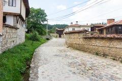 Stone pavement in Koprivshtitsa, Bulgaria Royalty Free Stock Photo