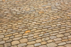 Stone pavement Royalty Free Stock Photo