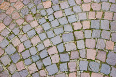 Stone pavement pattern Stock Image