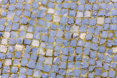 Stone pavement pattern Royalty Free Stock Image