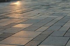 Stone Pavement Pattern Stock Images