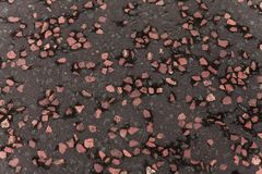 A Stone pavement texture from glasgow scotland stock photography
