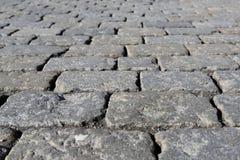 Stone pavement texture Stock Photography