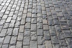 Stone pavement texture Royalty Free Stock Photos