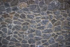 Stone pavement texture. Granite cobblestoned background. Stock Images