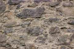 Stone pavement texture. Granite cobblestoned background. Royalty Free Stock Photography