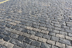 Stone pavement texture. Moscow, Russia, Red Square Royalty Free Stock Photography