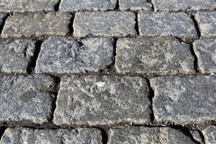 Stone pavement texture. Moscow, Russia, Red Square Stock Photography