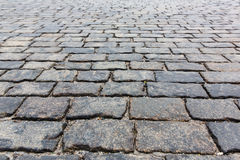 Stone pavement texture. Moscow, Russia, Red Square Stock Images