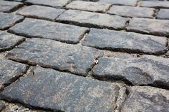 Stone pavement texture. Moscow, Russia, Red Square Royalty Free Stock Photos