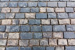 Stone pavement texture. Moscow, Russia, Red Square Royalty Free Stock Image