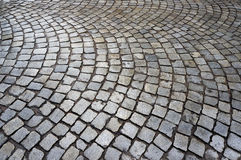 Stone pavement texture. Royalty Free Stock Photography