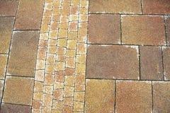 Stone pavement texture Royalty Free Stock Photo