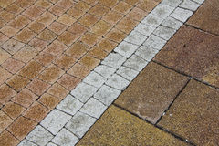 Stone pavement texture Royalty Free Stock Image