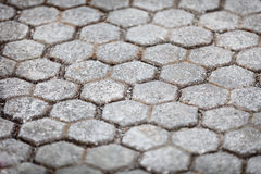 Stone pavements near the temple. Indonesia, Bali Royalty Free Stock Image