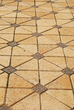 Stone Paver Flooring Stock Images