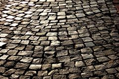 Stone pavers Royalty Free Stock Image