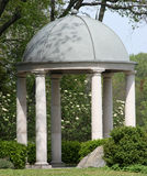 Stone pavilion in park Royalty Free Stock Photography