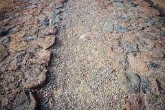 Stone paving Royalty Free Stock Image