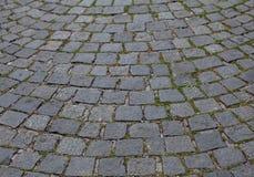 Stone paving background Stock Image