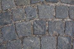 Stone paving background Royalty Free Stock Photos