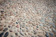Stone paving Stock Images