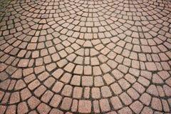 Stone paving pattern. Royalty Free Stock Photos