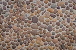 Stone paving Pattern floor Stock Image